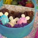 Easter Bunny Trio Bento