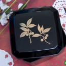 Bento Box #31 – Black Lacquer Cherry