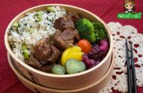 Okinawan Sweet Pork Bento, Take 2!