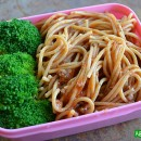 Whole Wheat Spaghetti Bento