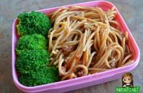 Whole Wheat Spaghetti Bento