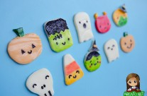 Halloween Cuties With Painted Cheese Part 2