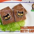 Halloween Kitty Cat Sandwiches